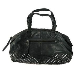 EUC Olivia Harris studded Grey boho purse handbag